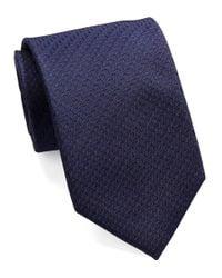 William Rast Blue Textured Dot Tie for men
