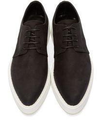 McQ - Black Glyph Logo Patch Slip-on Sneakers for Men - Lyst