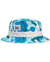 Wesc Green Reversible Warhol Camo Bucket Hat for men