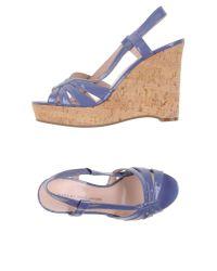 Marc By Marc Jacobs Purple Sandals