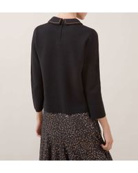 Hobbs | Black Pump Sweater | Lyst