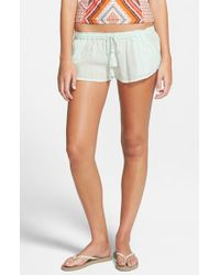 Rip Curl | Blue 'love N Surf' Beach Shorts | Lyst
