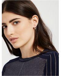 BaubleBar | Metallic Graphic Ear Jacket Set -rose Gold | Lyst