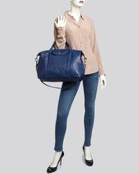 Longchamp Brown Satchel Le Pliage Cuir Large