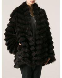 The Row Brown Fur Coat
