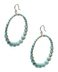 Chan Luu | Green Earrings | Lyst
