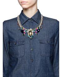 Venessa Arizaga Multicolor 'honolulu' Necklace