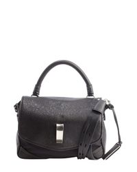 Gryson - Black Leather 'Ellie' Convertible Shoulder Bag - Lyst
