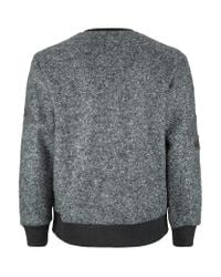 Neil Barrett - Gray Wool Star Sweatshirt for Men - Lyst