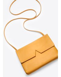Vince Yellow Signature Collection Baby Crossbody