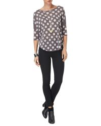 Phase Eight Natural Catrina Top