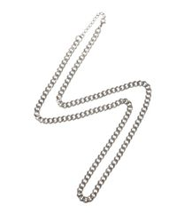 ASOS - Metallic Stainless Steel Chain for Men - Lyst