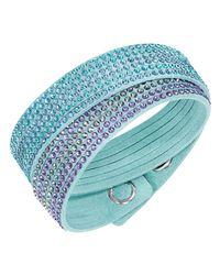 Swarovski | Blue Slake 2in1 Bracelet | Lyst