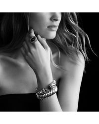 David Yurman - Metallic Waverly Bracelet, 18mm - Lyst