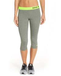 Nike - Green Pro Hypercool Dri-Fit Leggings - Lyst