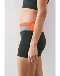 Forever 21 Black Colorblock Yoga Shorts