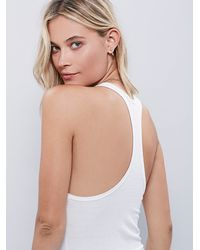 Free People - White Mercy Tank - Lyst