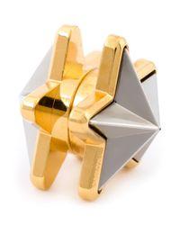 Givenchy Metallic Star Earring