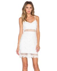 Lovers + Friends White X Revolve Rock The Boat Mini Dress