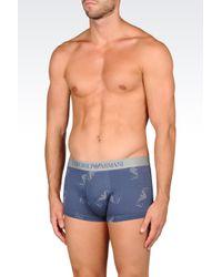 Emporio Armani | Blue Boxers for Men | Lyst