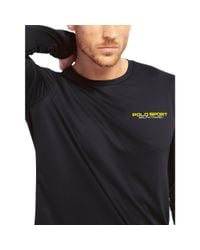 Ralph Lauren | Blue Performance Jersey T-shirt for Men | Lyst