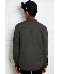 KR3W - Gray Smuggler Wool Jacket for Men - Lyst