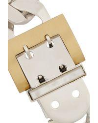 Ann Dexter-Jones Metallic Midnight Hour Sterling Silver, 18-Karat Gold, Mother-Of-Pearl And Diamond Bracelet