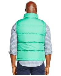 Polo Ralph Lauren | Green Big And Tall Elmwood Down Vest for Men | Lyst