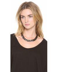 Lulu Frost - Black Wavelength Necklace - Lyst