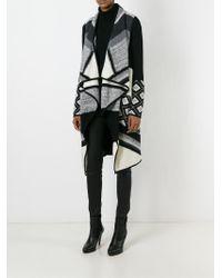 VINCE | Black Asymmetric Cardi-coat | Lyst