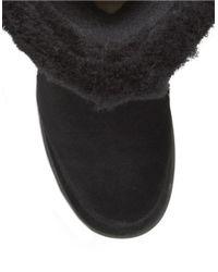 UGG Black Katia Shearling Boots