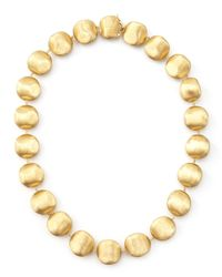 Marco Bicego | Metallic Africa Gold Medium Bead Necklace | Lyst