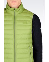 Armani Jeans | Green Ultra Light Down Jacket for Men | Lyst