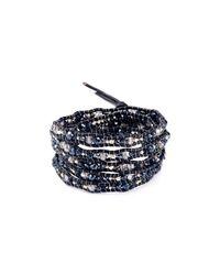 Chan Luu | Black Beaded Wrap Bracelet | Lyst