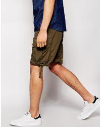 G-Star RAW Green G Star Bermuda Short Camo for men