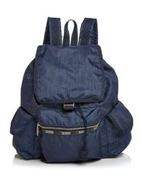 LeSportsac | Blue Functional Backpack | Lyst