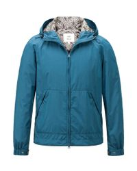Onassis Clothing | Blue Windbreaker for Men | Lyst
