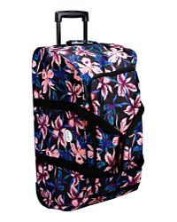 Roxy - Black Wheeled Luggage - Lyst