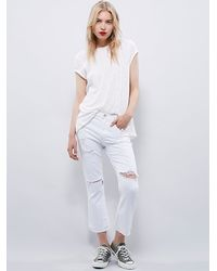 Free People | White We The Free Womens We The Free Prairie Tee | Lyst