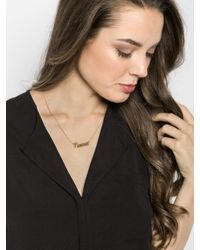 BaubleBar - Metallic Ava Freestyle Necklace (Ships 5 Weeks From Order Date) - Lyst