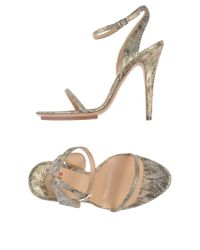 Ports 1961 - Metallic Sandals - Lyst