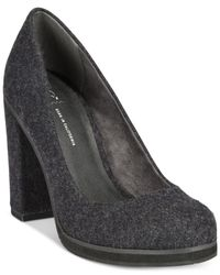 BC Footwear | Metallic Turf Casual Platform Pumps | Lyst