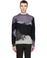 PS by Paul Smith Multicolor Mohair Sweater for men