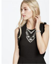 BaubleBar | Metallic 'xena' Bib Necklace | Lyst