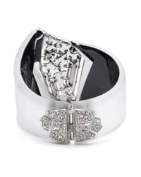 Alexis Bittar - Metallic Fancy Shattered Hinge Bracelet You Might Also Like - Lyst