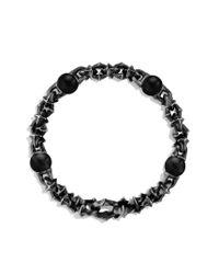 David Yurman - Armory Medium Link Bracelet with Black Onyx for Men - Lyst