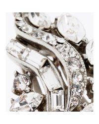 Ben-Amun - Metallic Swarovski Crystalembellished Fauxpearl Clipon Earrings - Lyst