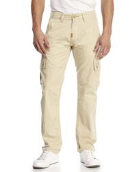 LRG - Natural Cargo Pants for Men - Lyst