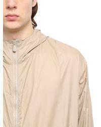 Bottega Veneta Natural Lightweight Soft Nylon Jacket for men