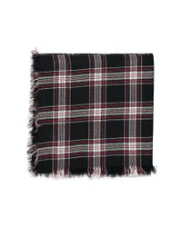 Forever 21 - Black Classic Plaid Scarf - Lyst
